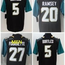e9a020f1e 2018 Jacksonville A+++ quality Mens adults Jersey Blake Bortles 5 Jalen  Ramsey 20 leonard fournette 27Yannick