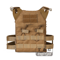 Emersongear JPC Tactical Vest Plate Carrier MOLLE with Double 5.56 Magazine Pouch for Kids Emerson Lightweight Modular Vest