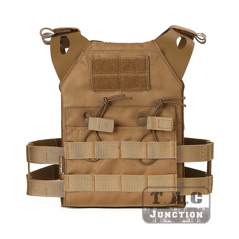 Emersongear JPC gilet tactique plaque transporteur MOLLE avec Double 5.56 poche de Magazine pour enfants Emerson léger gilet modulaire