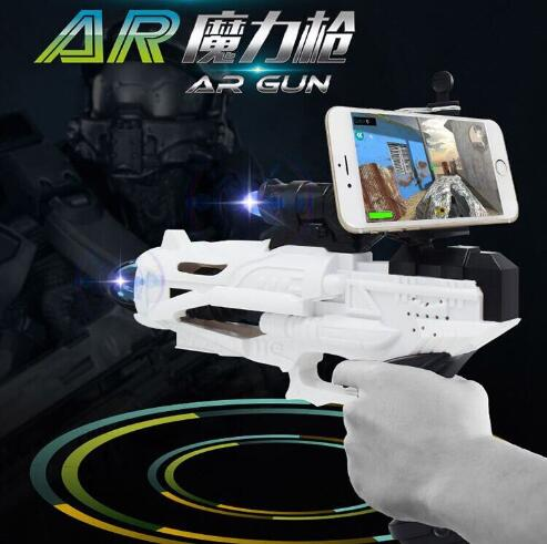 5858 Original AR Electronic smart gun children magic pistol toy puzzle to enhance the realistic game handle model gift for kid dayan gem vi cube speed puzzle magic cubes educational game toys gift for children kids grownups