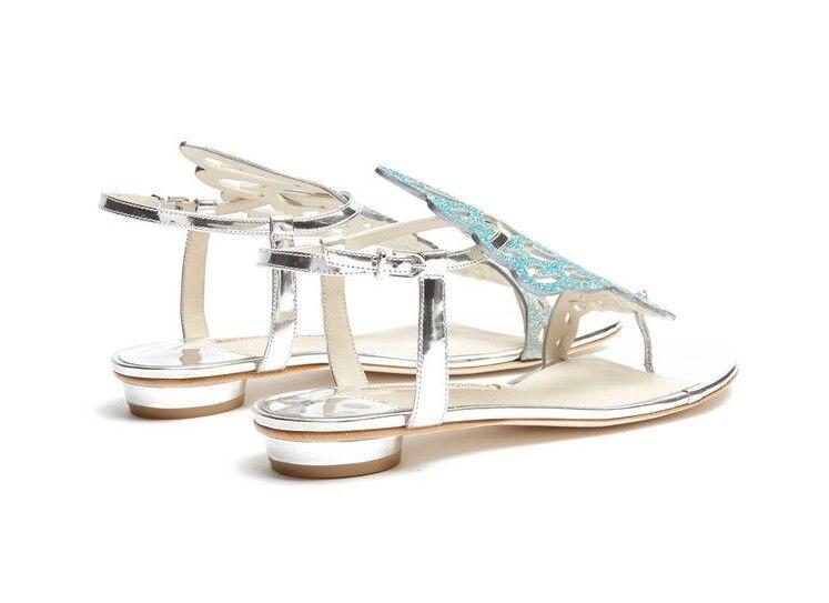 Mode Magnifique Sandales Boucle D'été Loisirs Marque Show Appartements As Sandalial Femme Solide Femmes Sexy Couleur Doux Cristal Chaussures Femininas ApARqrxHw