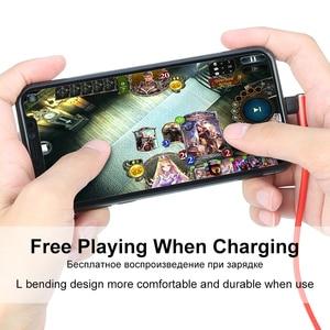 Image 5 - Coolreall cable USB de carga rápida para móvil, cable de datos de 90 grados para iphone XS MAX XR X 8 7 6 6S Plus 5 5s SE ipad