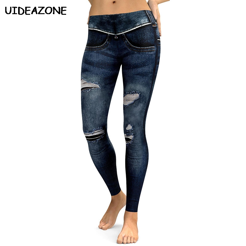 4b986be54 Buy fake jeans leggings and get free shipping on AliExpress.com