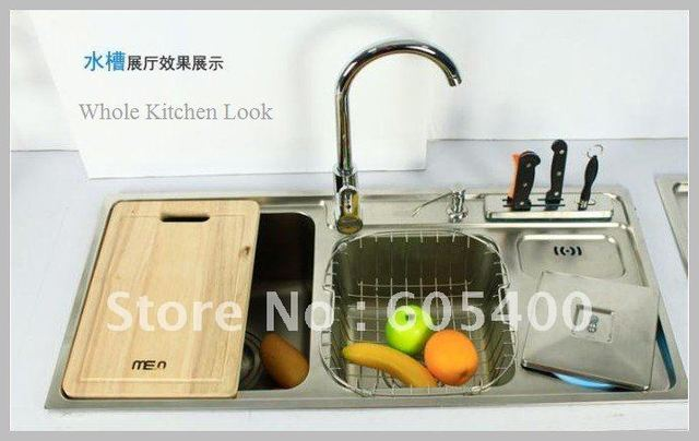 Kitchen Sink,Stainless Steel,1 piece/lot, free shipping