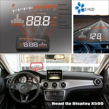 Car HUD Safe Drive Display For Mercedes Benz GLA Class MB X156 2013~2016 Refkecting Windshield Head Up Screen Projector