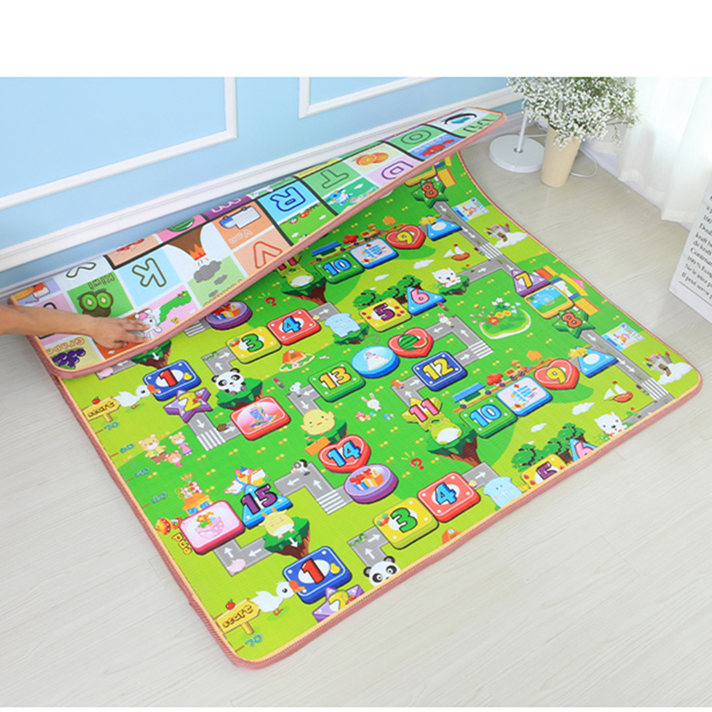 1cm 2cm Thick Baby Crawling Mat Game Pad Play Mat Living