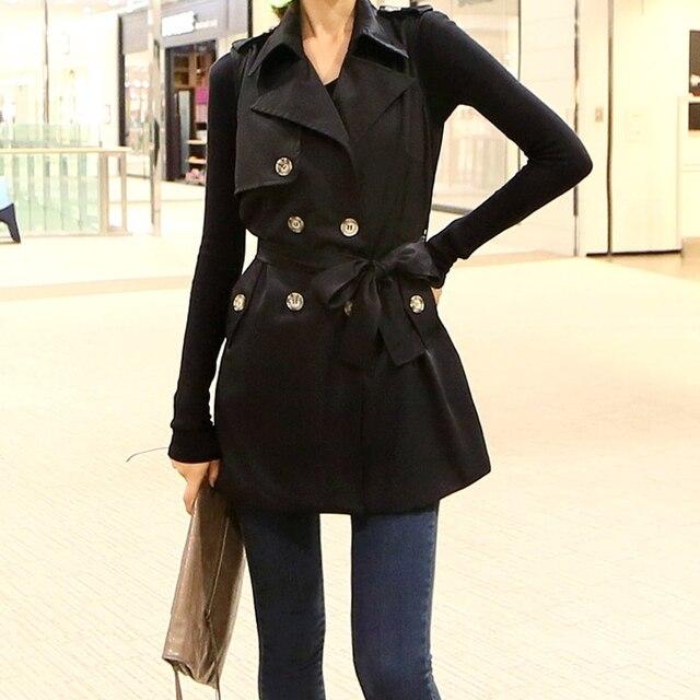 2015 beroemde merk lente warm jurk goedkope hot koop casual vest vrouwen kleding katoen dames lange vest mouwloze jas jas