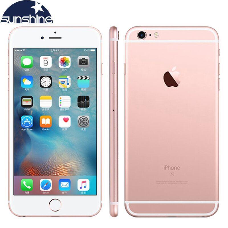 Original Apple iPhone 6S Plus Dual Core Mobile phone 5.5'' 12.0MP 2G RAM 16/64/128G ROM LTE Smartphone
