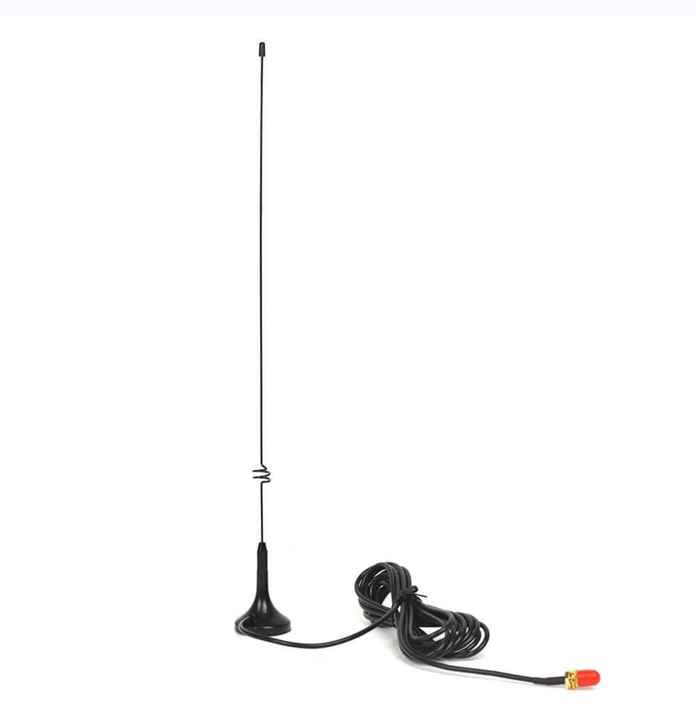 10PCS HYS BNC Walkie Talkie Antenna 144/430MHz VHF/UHF Magnetic Base Car Mobile Antenna for CB Radio Two Way Radio UT-108UV