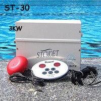 В 3KW 220 В парогенератор Машина для сауны дома сухой потоковой печи влажной цифровой контроллер пароход ST 30