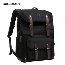 Canvas&Leather Backpack NATIONAL BAGSMART