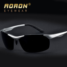 AORON Polarized Lens Brand Sunglasses Men's Classic Square TR90 Driver Glasses Fashion Leisure Eyewear Oculos de sol Goggle