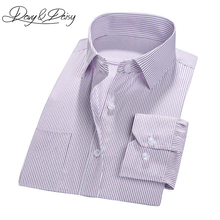 DAVYDAISY High Quality Men Social Shirts Business Gentleman