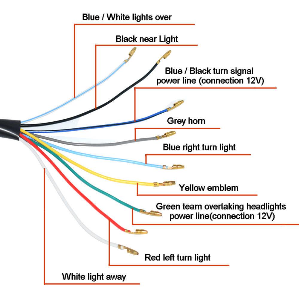 Horn Diagram Motorcycle - Wiring Diagrams on