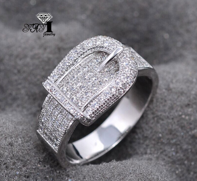 YaYI Jewelry Fashion  Princess Cut Huge  2.3 CT White Zircon Silver Color Engagement Set Rings wedding Rings Party Rings