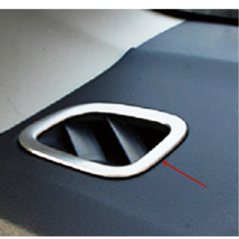 For Suzuki Vitara 2015-2016 ABS Chrome Turn signal Decorative Frame Trim 2PCS