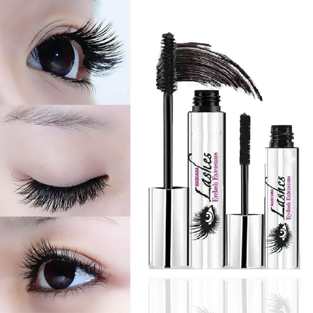 360e09ba945 2pcs DDK Mascara Magic Black 4D Silk Fiber Eyelash Mascara DiDi Cat ...