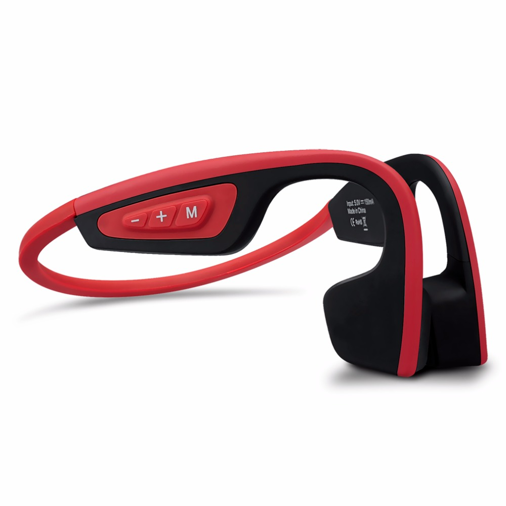 S. Porter LF-19 Sans Fil Bluetooth Casque Stéréo Étanche courroie de Cou Casque Conduction Osseuse NFC Mains Libres Écouteur