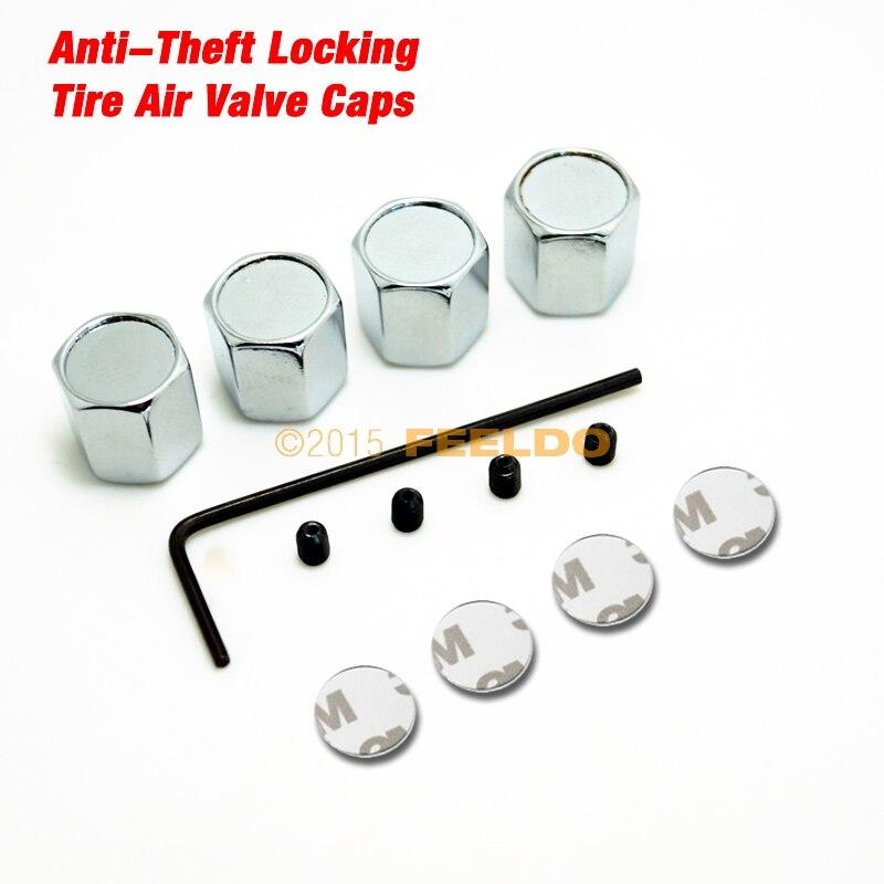 MOTOBOTS 300Set New 4PCS Caps Anti Theft Locking Tire air valve caps For Mixed LOGO FD