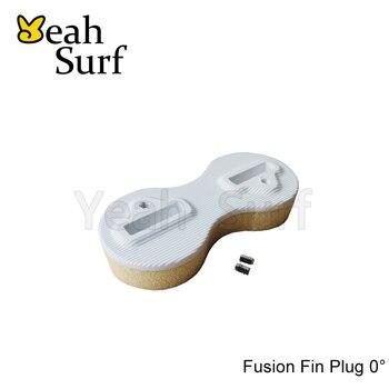 цена на SUP Board Surf FCS Fusion Fin Plug White 0 Degree Fin Plugs
