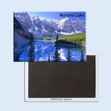 Free Shipping Home Decor Stickers,Canada Banff National Park,Moraine Lake Magnet 5721 Memorabilia wholesale(Hong Kong)