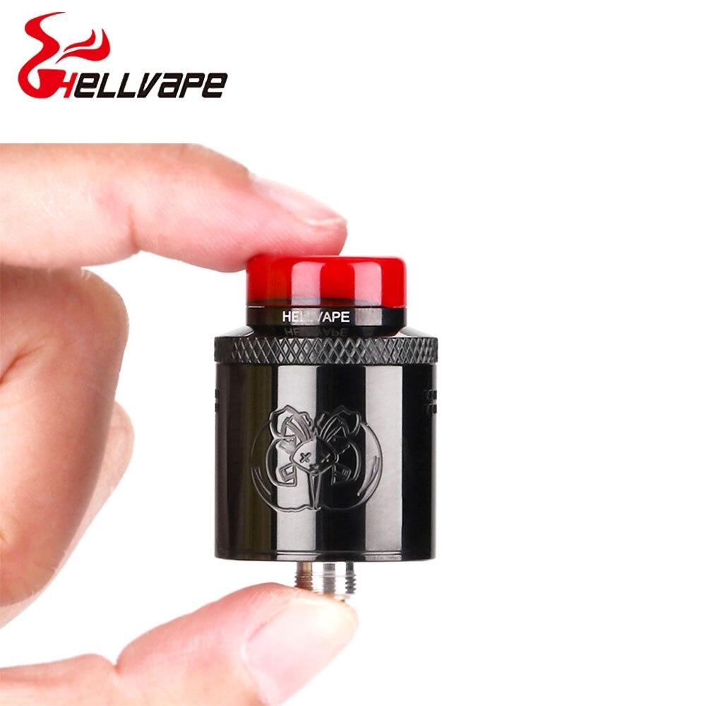 Heißer verkauf Hellvape Drop Dead RDA 24mm durchmesser mit 14 Seite Luftstrom Löcher & BF Squonk Pin VS Toten kaninchen SQ RDA e-cig vape tank