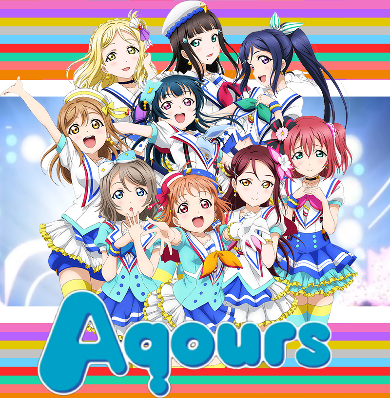 Love Live! Sunshine!! Aqours Member Deformed Figures купить