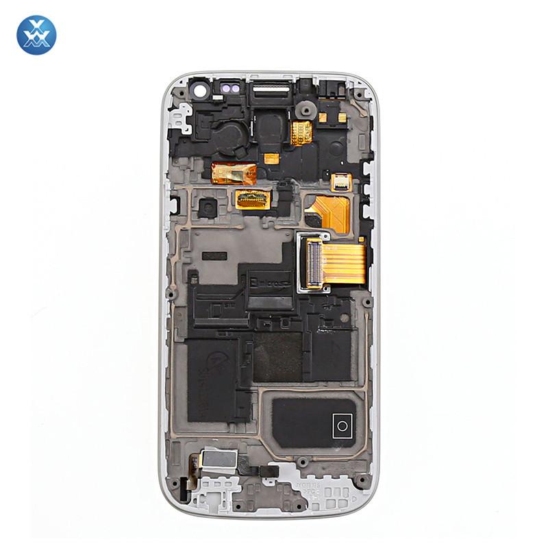 white Samsung Galaxy S4 Mini i9190 i9195 LCD+Touch Screen Digitizer+Frame 2