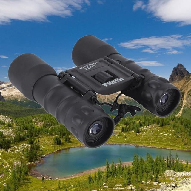 1500-7500M Powerful Outdoor Hunting Folding Day 22x32 Binoculars Telescope View Zoom High Magnification HD Binoculars caza