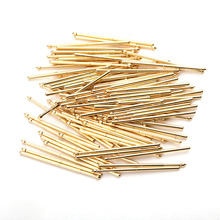 PA100-E Sring Test Probe Metal Brass Spring 1000/PCS Home Durable And Convenient Sleeve Length 33.35mm