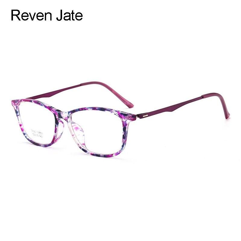 Reven Jate YB17001 Optische Brillen Rahmen für Frauen Brillen ...