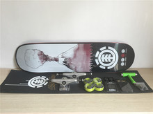 Complete font b Skateboard b font Set Element Deck Wheels Bearings Union font b Trucks b
