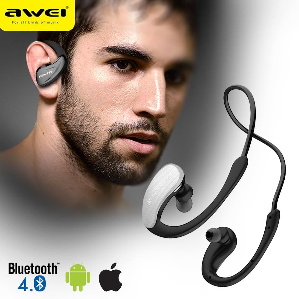 Ecouteur A885BL Elastic Stereo Earphone Waterproof Wireless Bluetooth Sport Headset For Samsung/Xiaomi/iPhone SE/ Huawei/Oppo sport elite se 2450