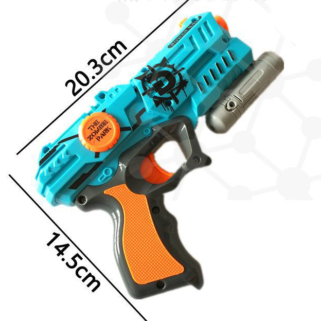 Zombie Strike Soft Bullet Gun Plastic Toy Soft Bullet Pistol Outdoor Toys Paintball Nerfs Elite Air Soft Gun Gift For Children