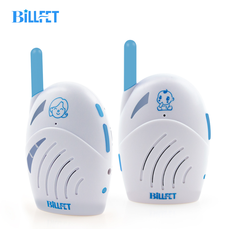 BILLFET baby Walkie Talkie Radio Nanny Digital Baby Monitor Audio Two-Way Radio Intercom Feedback baba eletronica baby sitter two way radio walkie talkie transceiver blue