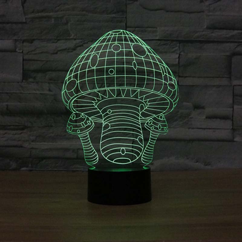 Mushroom Night Light For Baby Cute Led table Lamps Home Depot