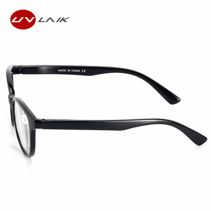 690e0f5f7a3 ... UVLAIK Fashion Men Women Readers Reading Glasses Plastic Unbreakable Reading  Glasses with Diopter +1.0 + ...