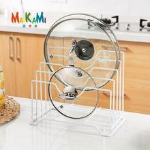Kitchen Pot Lid Shelf Pot Cover Holder Dispenser Pot Lid Racks Pot Pan Racks Chopping Board Cooking Tools Storage Free Shipping