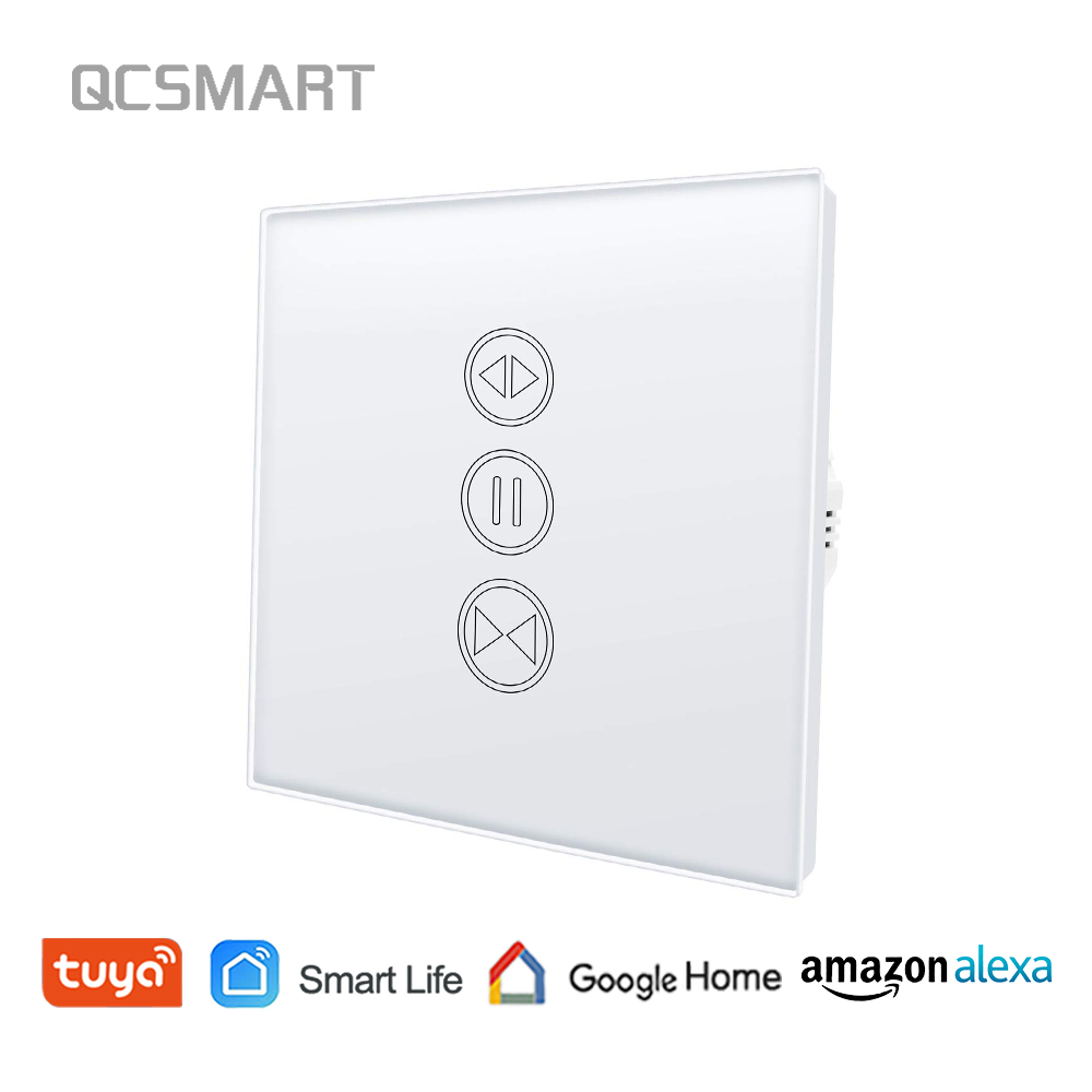 WiFi Blind Switch for Electrical Motorized Shutter, Remote Control Curtain Shutter, Voice Control Google Home, Amazon Alexa Echo