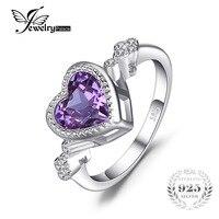 JewelryPalace Hart Liefde 2.6ct Gecreëerd Alexandriet Sapphire Ring 925 Sterling Silverr Fijne Sieraden hot selling 2017 gift voor mom