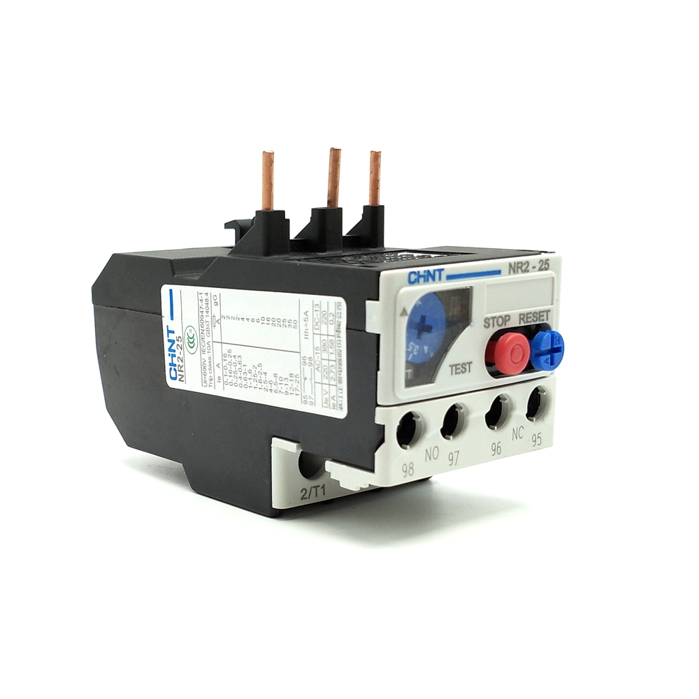 New Chint Thermal Overload Relay NR2-36 28-36 Amp.