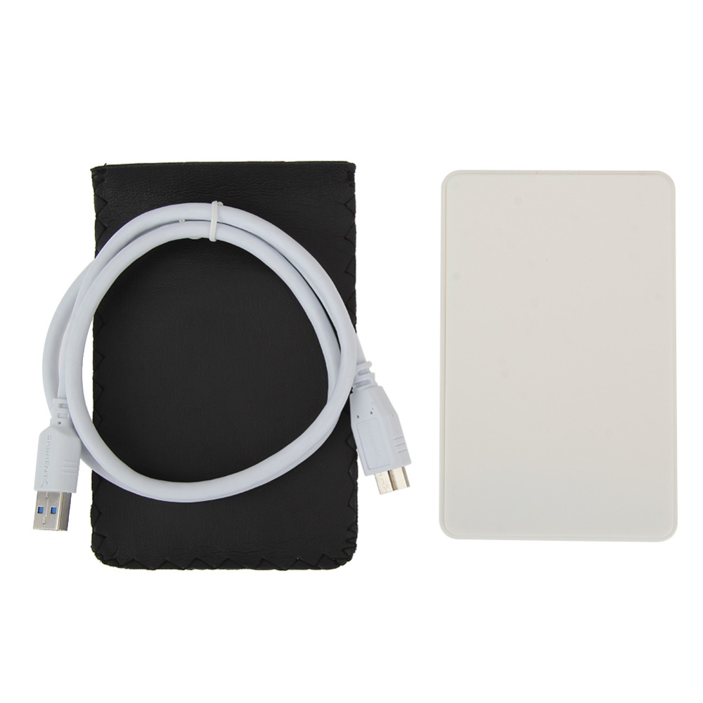 <font><b>USB</b></font> <font><b>3.0</b></font> Hard Drive External Enclosure <font><b>Case</b></font> <font><b>2.5</b></font> inch Sata to <font><b>USB</b></font> <font><b>HDD</b></font> Mobile Disk Box Enclosure <font><b>Cases</b></font> for Windows/Mac OS Hot Sale image
