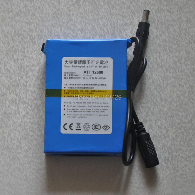 The large capacity rechargeable lithium battery backup power the large capacity rechargeable lithium battery backup power supply of 12v 6800ma 12 volt 6500 ma sciox Image collections