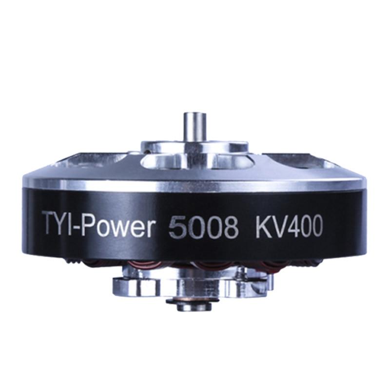 5008 sin escobillas Motores kv335 kv400 para aviones rc plane del multi-helicóptero sin escobillas outrunner Motores CW/CCW 4 unids