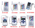 IR RF remote controller dimmer  RGB RGBW 11/12/24/44/40 key for 5050 5630 2835 3528 3014 led strip