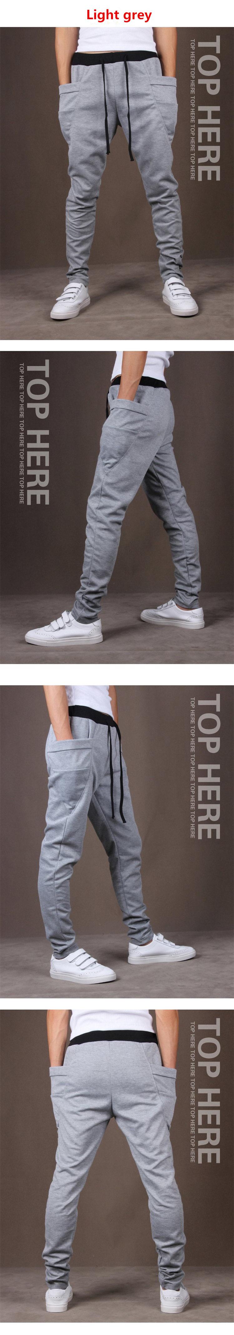 Men's Pantalones Hombre Unique Pocket Harem Pants