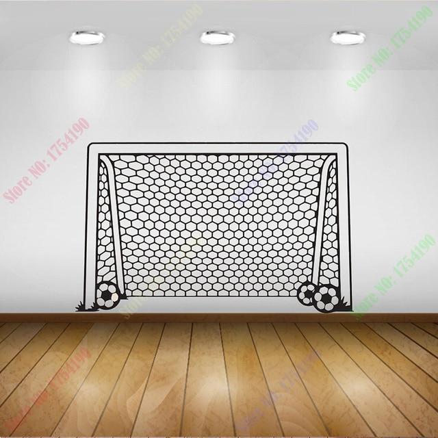 On Soccer Football Goal Net Ball Sports Home Decor Wall Mural Paper Art Posterwall Decal