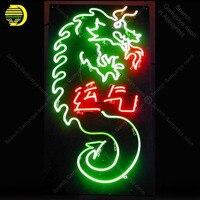 Neon Teken voor Chinese Draken Lucky yunqi neon Light Sign verlichte Display Bar Club Teken glazen Buizen Handgemaakte Neon borden