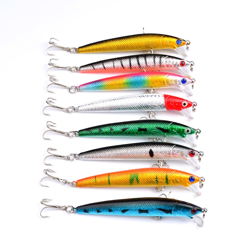 Рыбалка приманки 9.5 см/8.5 г прикормы экспортируется в Японии Рынок 8 цветов рыболовные ...