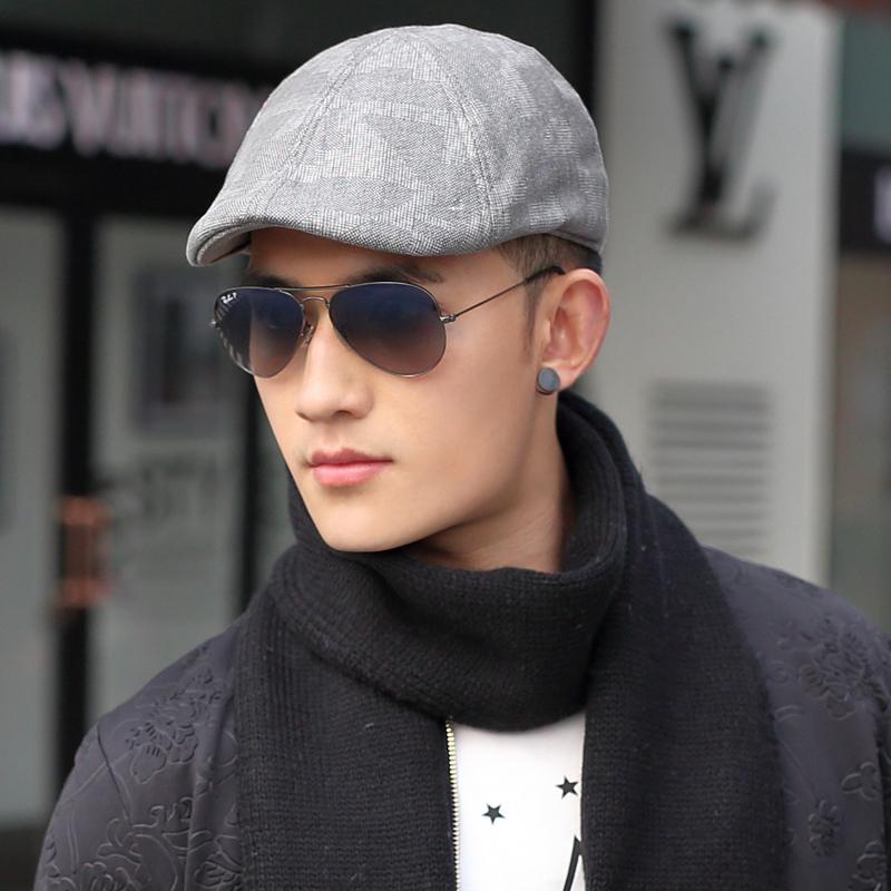 New 2015 New Cotton Beret Men autumn and winter fashion temperament yuppie  wind cap beret painter cap Men s Hats advance-in Holidays Costumes from  Novelty ... a3119e1ca79